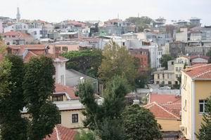 Вид на Стамбул из ЧАЙной