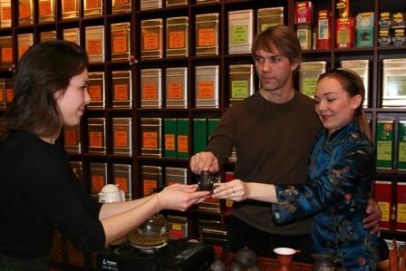 парная чайная церемония