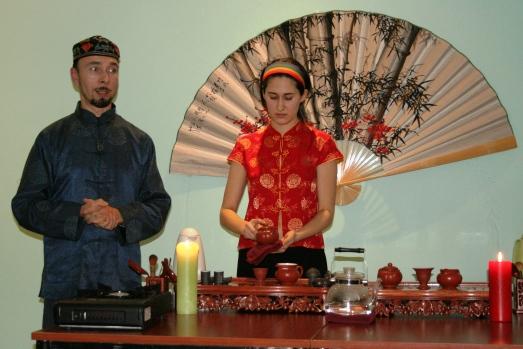 Дегустация и презентация чайной церемонии