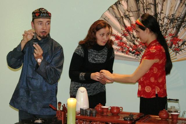 Обучение чайной церемонии гунфуча