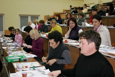 участники семинара живописи У-Син