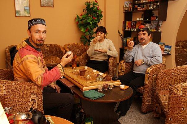 ФархатДжа делает чай