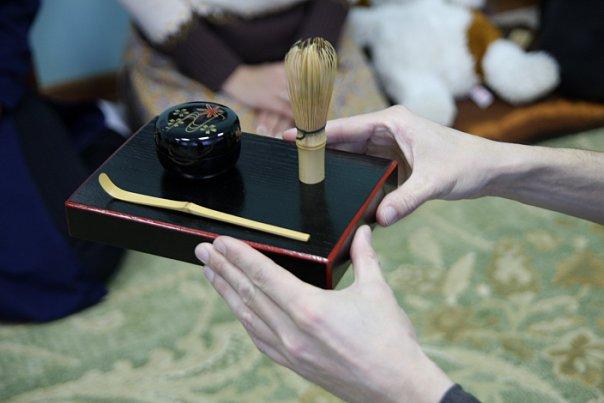 утварь для японской чайной церемонии